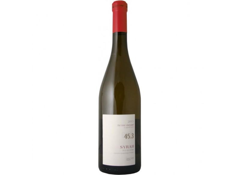 """Vin Rouge """"45°3"""" SYRAH IGP Puy de Dôme 75CL - Saint VERNY"""