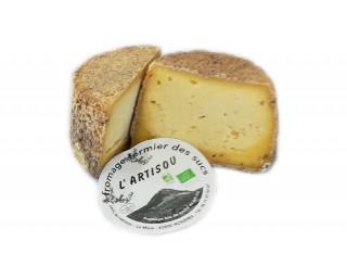 """Fromage fermier aux artisous """"L'Artisou"""" BIO"""
