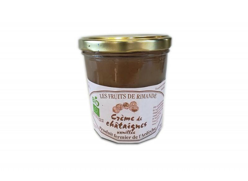 Crème de châtaigne BIO LES FRUITS DE RIMANDE