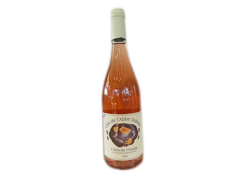 Vin Clos l'Abbé Dubois rosé 75CL AOP