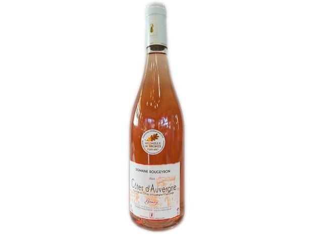 Vin rosé Côtes d'Auvergne Chateaugay 75CL - ROUGEYRON