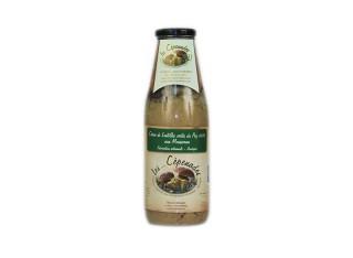 Velouté crème de lentilles aux mousserons artisanal