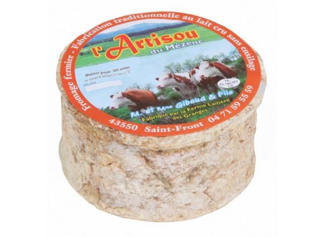 Fromage fermier aux artisous du Mezenc