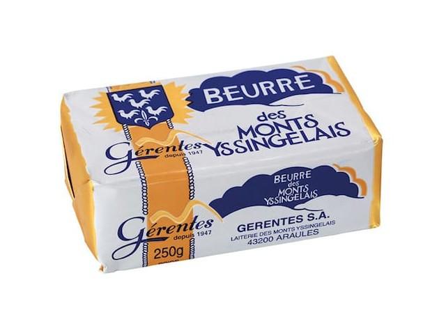 Beurre des Monts Yssingelais