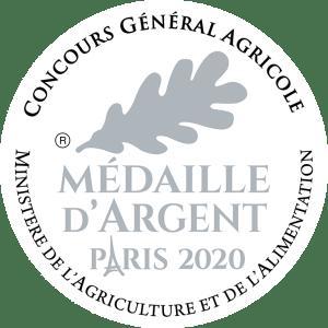 Médaille d'Argent au Concours Général Agricole Paris 2020